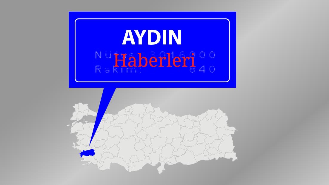 Söke'de Yenidoğan Kavşağında otomobil yan yattı