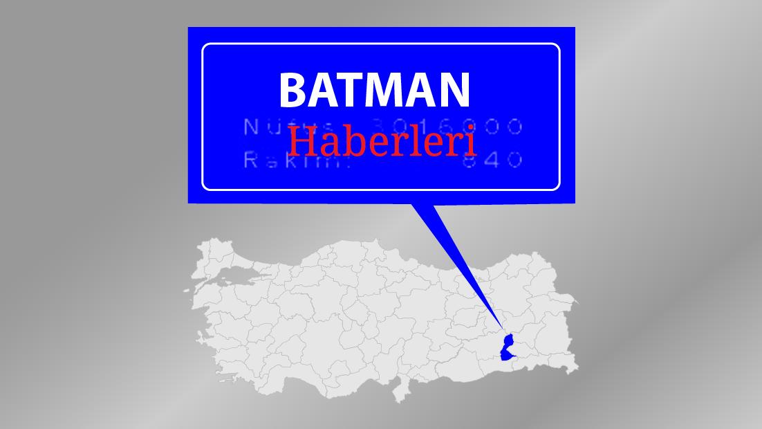 Batman'da terör operasyonu