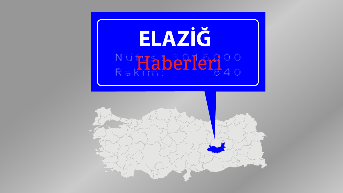 Elazığ'ın 5 ilçesi için kuvvetli yağış uyarısı