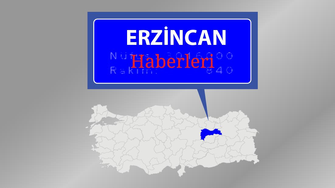 Erzincan'daki kuvvetli rüzgar