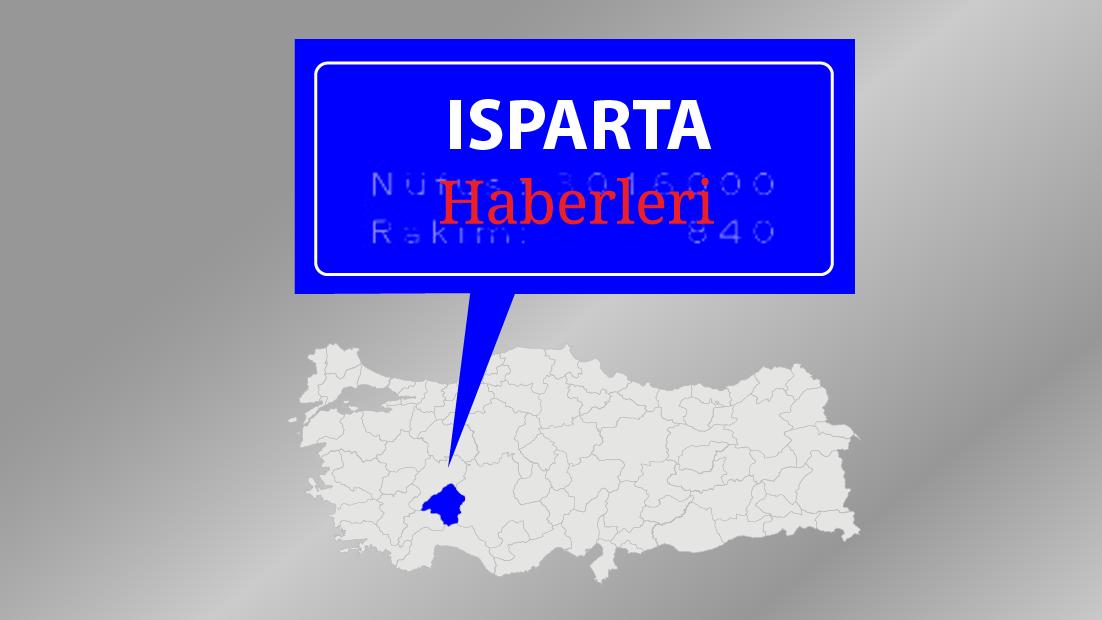 Isparta'daki trafik kazası