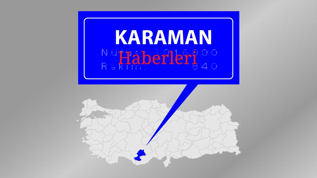 Karaman'a mevsimin ilk karı düştü