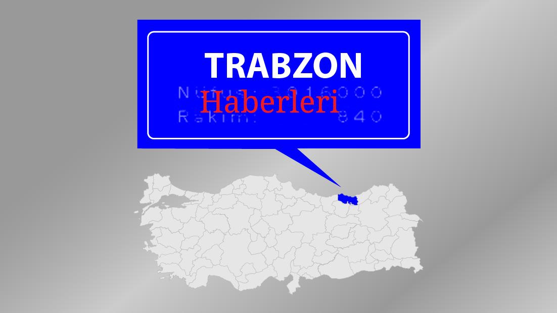 Trabzon'da yol yapım çalışmaları devam ediyor