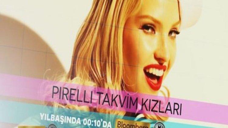 Pirelli Takvim Kızları BloombergHT'de