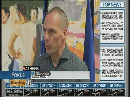 Varoufakis: Bankaların sermaye yapısı güçlü