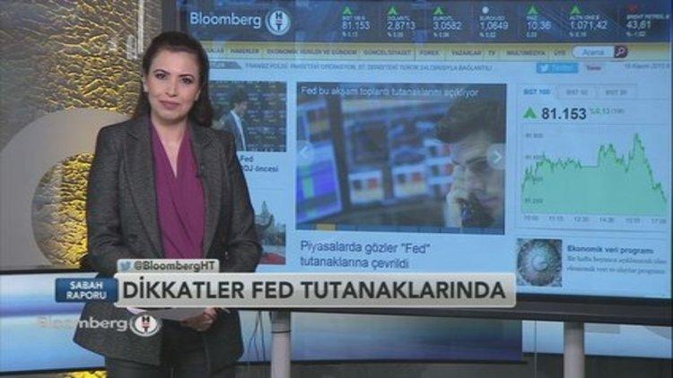 Piyasalar Fed tutanaklarına kilitlendi
