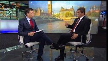 Davutoğlu: Kur artışı global ekonomik türbülansla ilgili