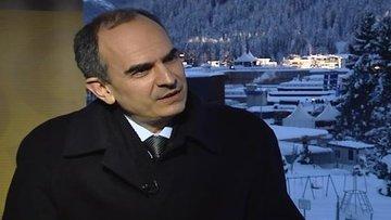 Başçı Davos'ta Bloomberg HT'ye konuştu