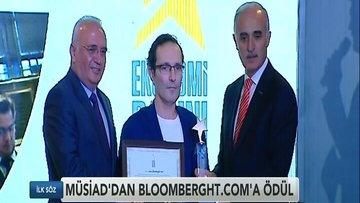 MÜSİAD'ın en iyi ekonomi portalı ödülü BloombergHT.com'un