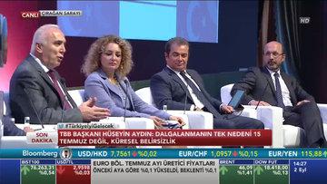 """Ziraat GM Aydın """"Türkiye İyi Gelecek"""" konferansında"""