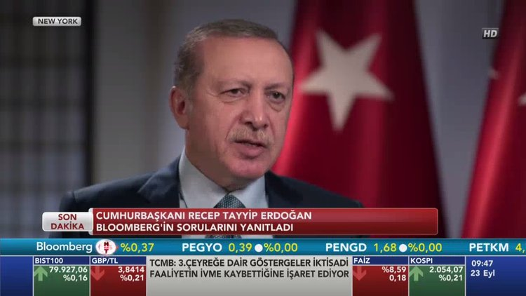 Erdoğan MB'nin faiz adımını yorumladı