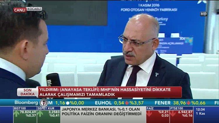 """""""Rusya'yla ihracattaki sıkıntılar 2017'de aşılır"""""""