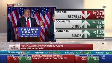 ABD seçimlerinde zafer Trump'ın