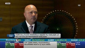 Turkcell CEO'su Terzioğlu Bloomberg HT'de