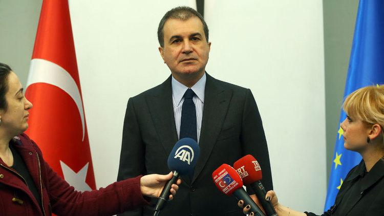 AB Bakanı Çelik: AKPM'nin kararı tarihi bir hata