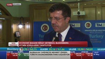 Zeybekci ABD ziyaretini Bloomberg HT'ye değerlendirdi