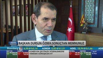 GS Başkanı Dursun Özbek Bloomberg HT'ye konuştu