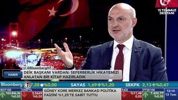 DEİK/Vardan: Türkiye'de yatırımlar artarak devam ediyor