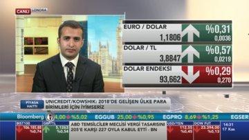 Unicredit Dolar/TL'de 4.15 seviyesini bekliyor