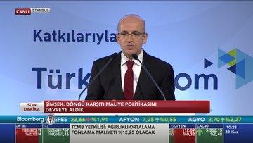 Şimşek Bloomberg HT Türkiye Ekonomi Zirvesi'nde konuştu