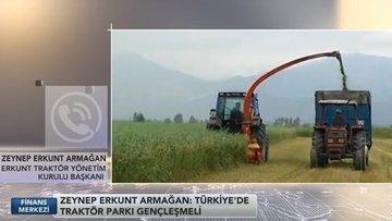 Erkunt Traktör: Türkiye'de traktör parkı çok yaşlı, gençleştirilmeli