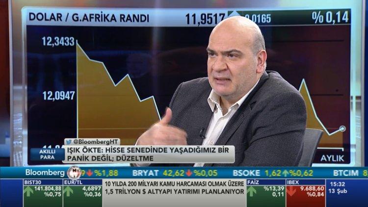 """""""Piyasada yaşanan panik değil, düzeltme"""""""