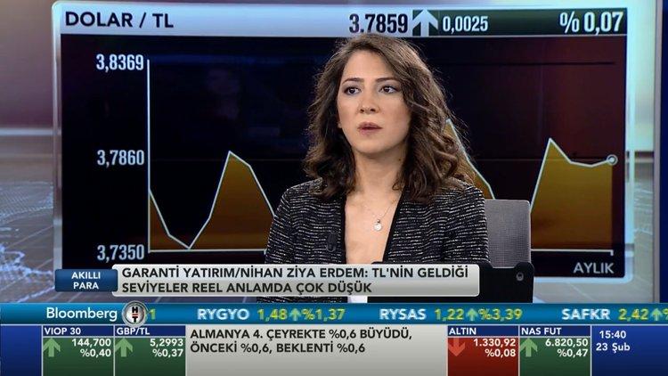 Dolar/TL'de yıl sonu beklentisi