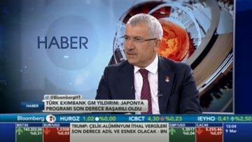 Türk Eximbank Genel Müdürü Yıldırım Bloomberg HT'de