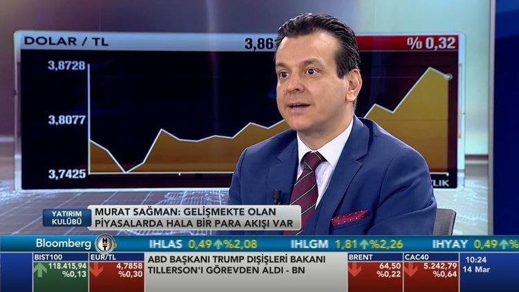 Murat Sağman dövizi ve piyasayı yorumladı