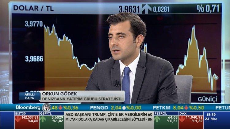 Denizbank  Orkun Gödek dolar/tl