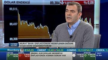 Murat İman enflasyon Yorumu
