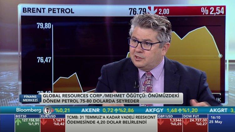 Global Resources Corporation Başkanı Mehmet Öğütçü petrol fiyatlarındaki gelişmeleri değerlendirdi