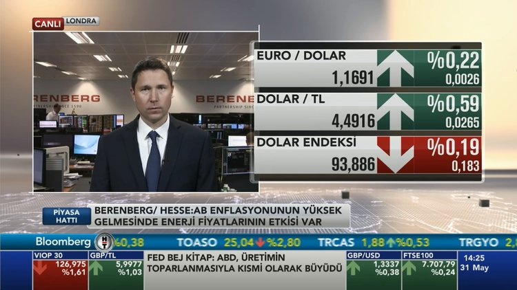 Berenberg: Euro/dolar'da 1.25'lere yükseliş olabilir