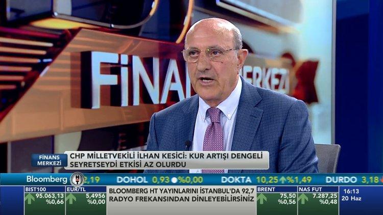 CHP'li milletvekili İlhan Kesici Bloomberg HT'de