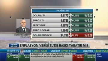 Enflasyon verisi TL'de baskı yaratır mı?