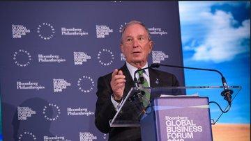 Bloomberg Küresel İş Forumu New York'ta düzenlendi