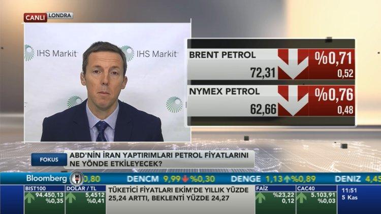 """""""İran'a yaptırımlarla petrol fiyatları yükselebilir"""""""
