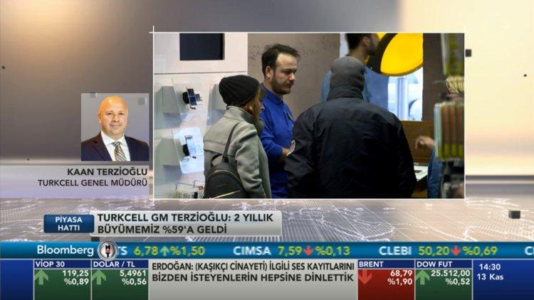 Turkcell GM Terzioğlu Bloomberg HT'de