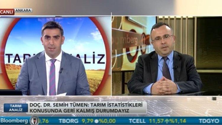 """""""Tarım istatistiklerinde geri kalmış durumdayız"""""""