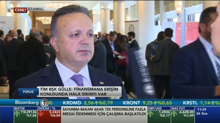 TİM/Gülle: Türkiye hızla normalleşme yolunda