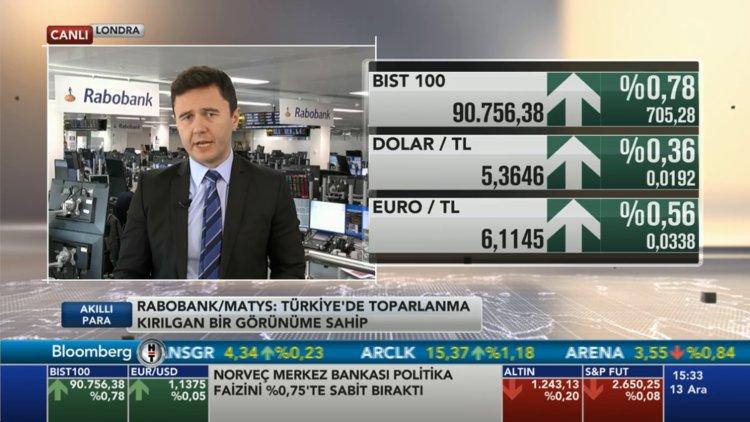 Rabobank'tan Türk piyasası değerlendirmesi