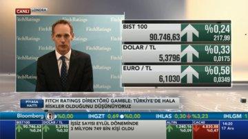 Fitch/Gamble: Türkiye ekonomisinde de hala riskler var