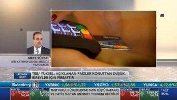 """""""Kredi kartı için açıklanan faizler konuttan düşük, bireyler için fırsattır"""""""