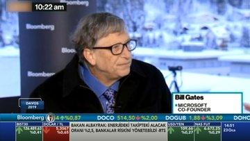 Bill Gates Davos Zirvesi'nde