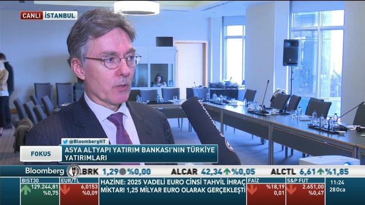 AIIB/Amsberg: Türkiye'de fırsat görüyoruz, altyapı ihtiyacı var