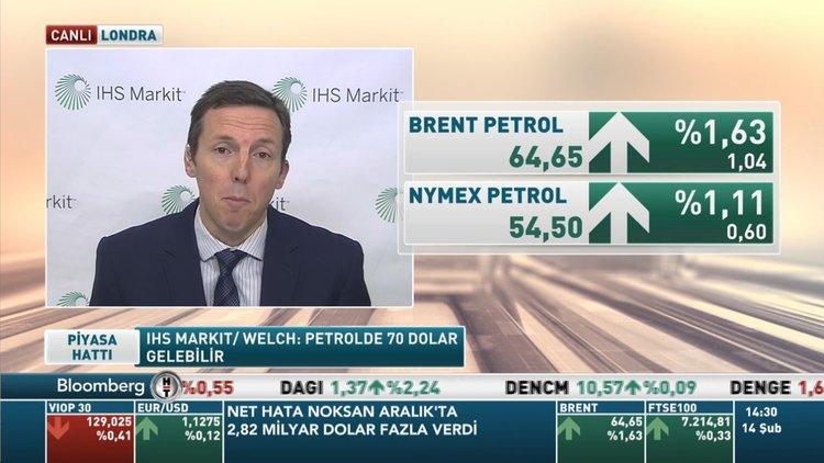 IHS Markit/Welch: Petrol 70 dolara yükselebilir