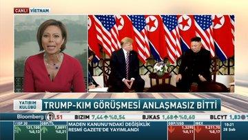 Trump- Kim görüşmesi anlaşmasız bitti