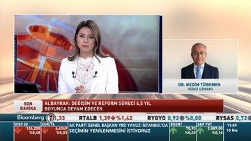 Vergi Uzmanı Dr. Nedim Türkmen yeni paketi değerlendirdi