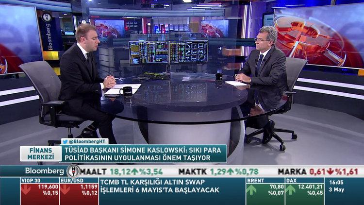 TÜSİAD Başkanı Simone Kaslowski Bloomberg HT'de