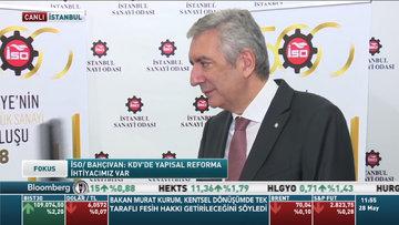 İSO Başkanı Erdal Bahçıvan Bloomberg HT'de